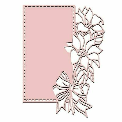 Lace Flower Edge Frame Metal Cutting Dies for Card Making Scrapbooking Embossing
