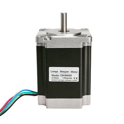 【EU FREE Ship】 LONGS 1PC Nema23 Stepper Motor 23HS8430 270oz-in 3A 76mm CNC