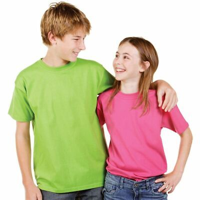 ASTERIX | Premium Plain Kids T-Shirts | Unisex Blank Cotton Tee | UPF Compliant