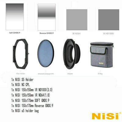 NISI S5 For SIGMA 14-24mm F2.8 DG 150mm Filter kit Holder with NC Landscape CPL