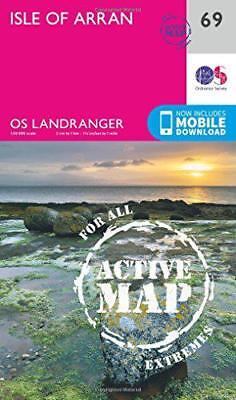 Landranger Active (69) Isle of Arran (OS Landranger Active Map) by Ordnance Surv