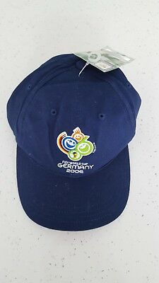 Official Fifa Football World Cup Germany 2006 Cap Brand New With Tags