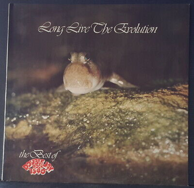 LONG LIVE THE EVOLUTION - THE BEST OF DOUBLE JAY ROCK - promo LIVE LP AC/DC 1977