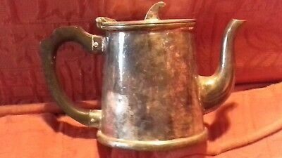 J D & Son; Electro Plated Nicol Silver (EPNS) three graduated jugs