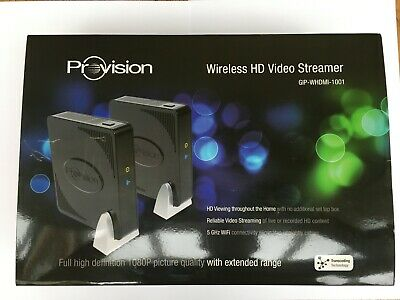 Provision Wireless Hd Video Streamer Gip-Whdmi-1001 100% Complete Boxed