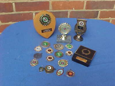 Job Lot Of Archery Awards Trophies Medals