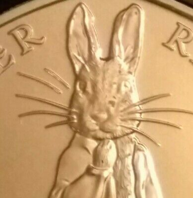 *2019 Peter Rabbit 50p coin hunt certified BU Brilliant Uncirculated fifty pence