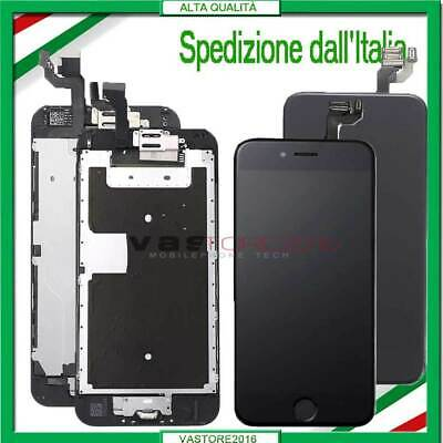 DISPLAY PER IPHONE 6 6 PLUS 6S ASSEMBLATO COMPLETO SCHERMO LCD+Button &Camera