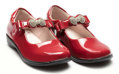 Girls Formal Mary Jane Lelli Kelly Mandy LK8304 Red Patent EU Size 25 - 35 F Fit