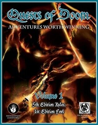 Dungeons & Dragons Quests of Doom, Volume 1 (5th Edition)