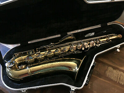 """Vintage Tenor Saxophone Conn 10M """"Lady Face"""" 1956 Ready To Play !! Big Sound"""