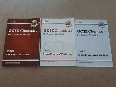 CGP GCSE Chemistry For Edexcel Revision Guide,  Practice Workbook, Answer Book