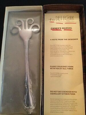 The Diet Fork from Christopher's Hand Wm. A. Rogers Silver Plated