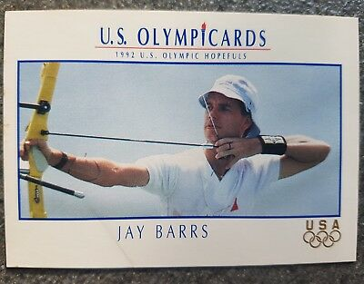 US Olymp Cards Jay Barrs OS 1992 Nr. 1 Trading Card