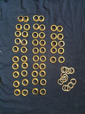 20mm Brass Rust Proof Grommet Eyelets with Washers DIY Pool Cover Banners