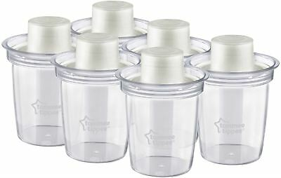 Tommee Tippee CLOSER TO NATURE 6 Travel Formula Dispenser Bottle Feeding BN
