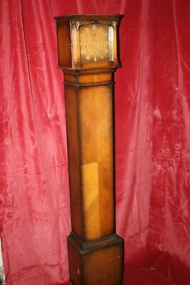 Old Wooden Grandmother Clock - Smiths Enfield - Spares or Repairs - Sold as Seen