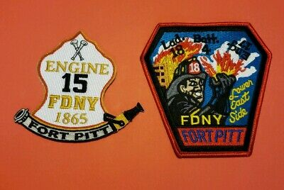 New York City Fire Department Patches Fort Pitt
