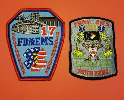New York City Fire Department EMS Patches Station 17
