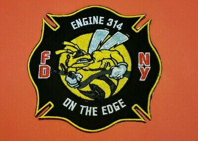 New York City Fire Department Patch Engine 314