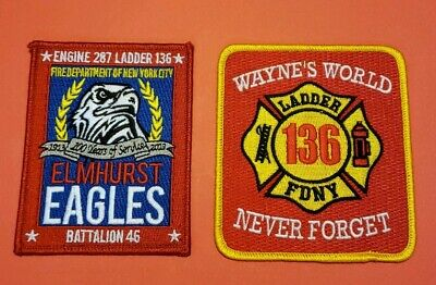 New York City Fire Department Patches E-287/L-136