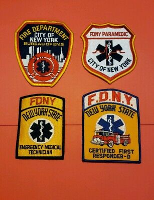 New York City Fire Department EMS Patches