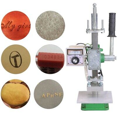 Hot Foil Stamping Machine Portable Leather Craft Pressing Manual Heat Press Tool