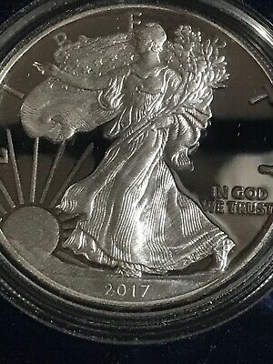 2017 AMERICAN SILVER EAGLE PROOF DOLLAR US Mint ASE Coin with Box and COA