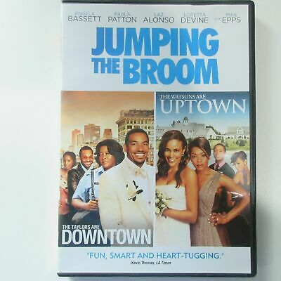 Jumping The Broom DVD Canadian Release in English French Spanish Thai Portuguese
