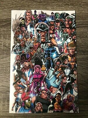 X-Men #1:  Mark Bagley : Every Mutant Ever Variant Cover : Nm : X 2 Copies