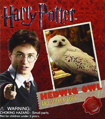 Running Press (Cor)-Harry Potter Hedwig Owl And Sticker Boo (UK IMPORT) BOOK NEW