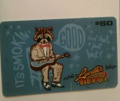 Lucille's Smokehouse Bar-B-Que Gift Card, Collectible, Mint