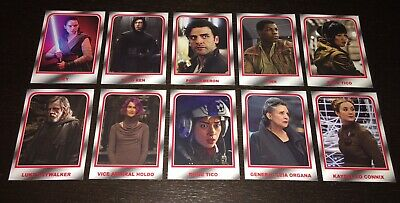 Topps Star Wars Journey To The Rise Of Skywalker Choose Your Destiny 10 Card Set