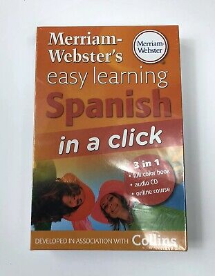 New Merriam-Webster's Easy Learning Spanish in a Click