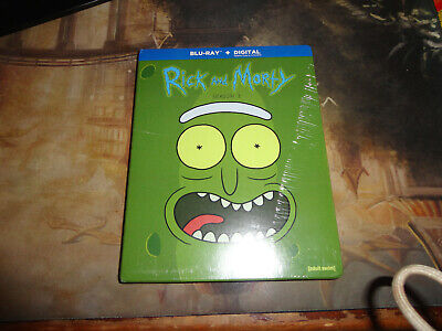 Rick And Morty: Season 3 Blu-ray, 2018 Digital not used FAST FREE SHIPPING NEW!!