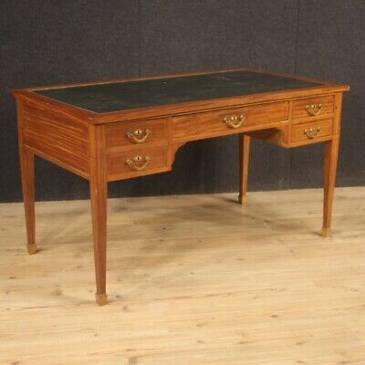 Secretary Desk Table Desk Antique Style English Secretary Furniture Wooden 900