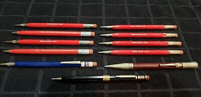Lot Of 11 Vintage Autopoint Mechanical Pencils