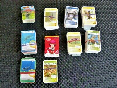 BULK Woolworths collectable cards Ancient, Super & Aussie animals, Explorers