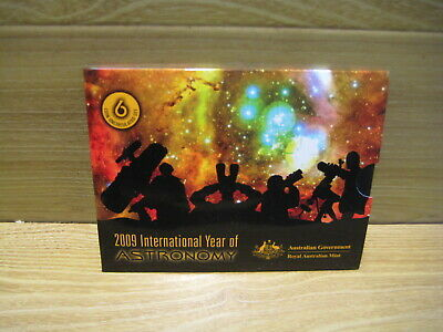 Australian Coins   Year 2009  Six Coin Uncirculated Set     Free Postage