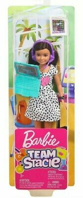 Barbie TEAM STACIE Gamer Doll with Gaming Headset, laptop and watch accessories