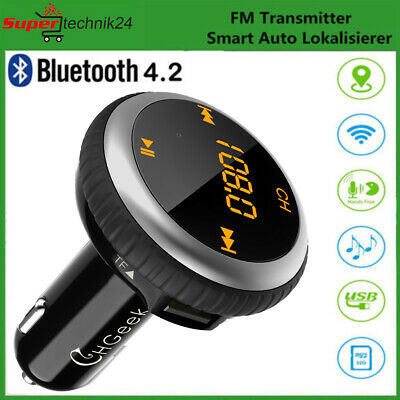 Bluetooth KFZ FM Transmitter Wireless AutoMp3 Player USB Smart Auto Lokalisierer