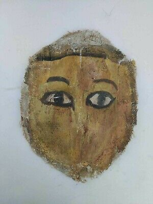 rare Roman ANCIENT Egyptian Mask DYNASTIC Ptolemaic Mummy