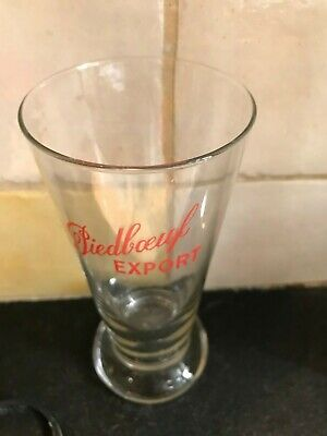 verre années 50 Piedboeuf Export glas olde glass not new