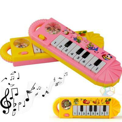 1x Baby Boys Girls Infant Toddler Kids Musical Piano Toys Early Educational Game