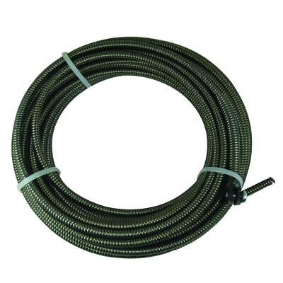 Brass Craft Slotted End Replacement Cable Drain Cleaning 5/16 in. x 50 ft.