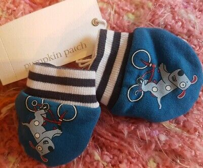 PUMPKIN PATCH Baby Mittens. Fully lined. 0-6 months. BNWT