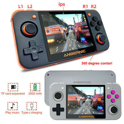 Portable 3.5 inch IPS Screen Retro Games RG350 Handheld Game Console Set Upgrade
