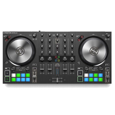 Native Instruments Traktor Kontrol S3 with Traktor Pro 3
