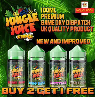 E LIQUID 100ml Vape Juice eliquid Cheap 70/30 0mg - 18mg 10 X 10ML