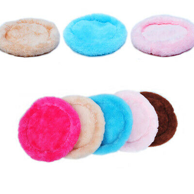 Small Pet Dog Cat Soft Fleece Warm Nest Bed House Puppy Winter Sleeping Mat JIUZ